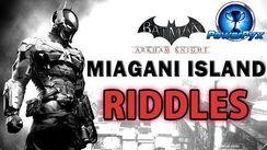 Batman Arkham Knight - Miagani Island - All Riddle Locations & Solutions-0