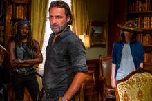 Michonne Rick and Carl 7x09