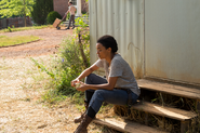 Sasha Williams 7x05 Go Getters Waiting for Maggie