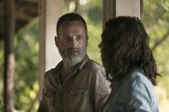Maggie Rhee and Rick Grimes 9x03 Season 9