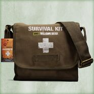 Walking Dead One Person Survival Kit