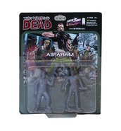 Abraham pvc figure 2-pack (bloody grey)