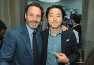 Lincoln and Yeun SDCC 13