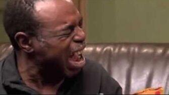 Epic black man crying
