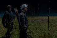10x03 Carol and Daryl at the border