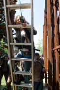 AMC 608 Maggie Climbs Ladder
