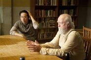 Glenn and Hershel 4x02