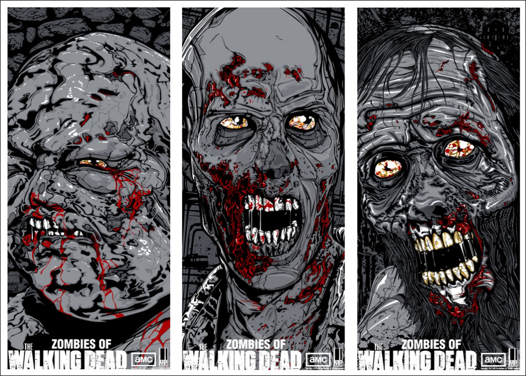 zombies of the walking dead - Zombie Pictures To Print