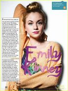 The fresh faced Emily Kinney so lovely