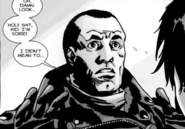 Issue 105 Negan Apologetic
