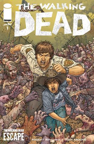 """File:Juan Jose Ryp """"The Walking Dead Escape"""" Variant.png"""