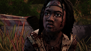 ITD Michonne Surprised