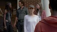 Maggie sees volunteers 709