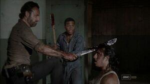 Rick kill Tomas