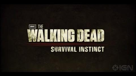 Axel TWD/Survival Instinct Gameplay Trailer