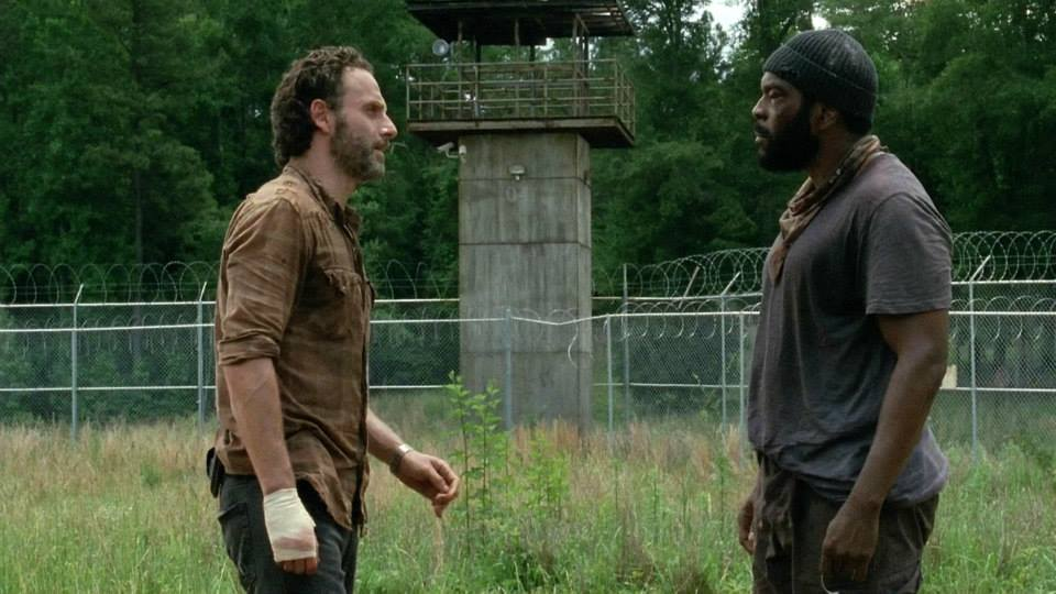 Image result for rick and tyreese walking dead