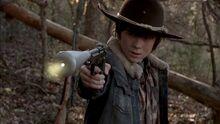 TWD Carl kill