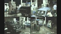 NOW TV The Walking Dead CCTV Petrol Station Take-over