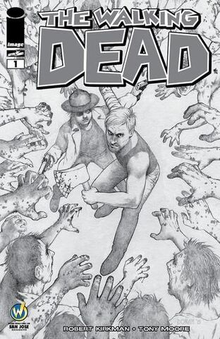 File:Issue 1 Wizard World Comic Con San Jose VIP Exclusive Sketch Cover signed by Colleen Doran.jpg