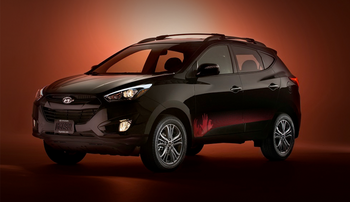 2014 hyundai tucson the walking dead special edition walking dead wiki fandom powered by wikia. Black Bedroom Furniture Sets. Home Design Ideas