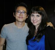Yeun with Fan2