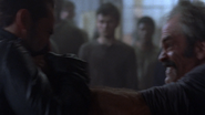 Simon and Negan Fistfight 1 S8E15