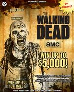 The Walking Dead scratch games (Vermont)