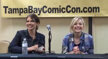 Lauren Cohan and Emily Kinney questions