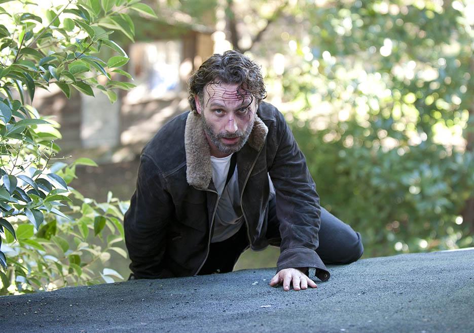 Rick Grimes Season 4 Hand