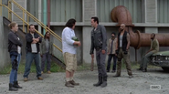 HAC Negan, Eugene and the saviors