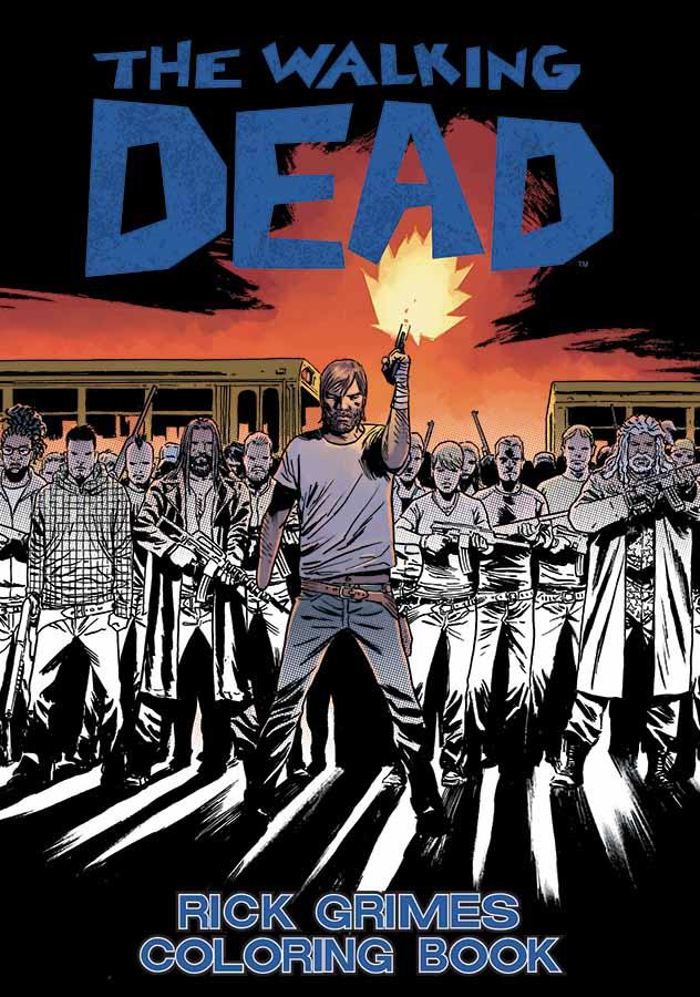 The Walking Dead Rick Grimes Coloring Book | Walking Dead Wiki ...