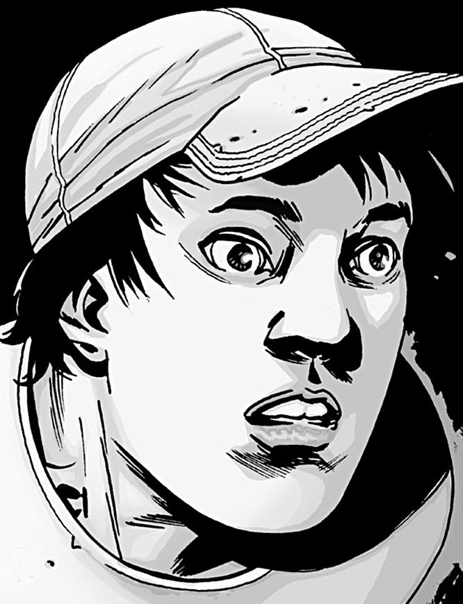 Image result for the walking dead comics glenn