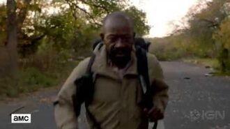 Fear the Walking Dead Teaser Morgan Makes His Debut via IGN