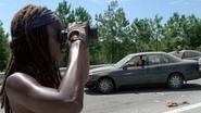 Michonne Sees Explosives 709