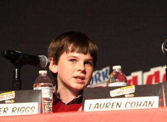Chandler+Riggs+New+York+Comic+Con+Walking+xyrRvDiO0R9l