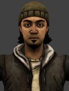 Johnny 3D Model Face