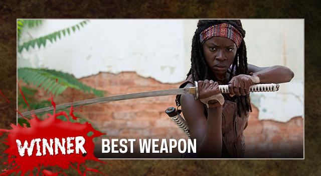 TWD weapon