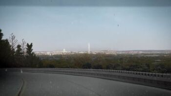 Washington D.C. from afar