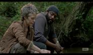 5x02 Carol & Tyreese Convo