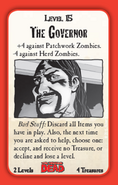 Munchkin Zombies- The Walking Dead The Governor card