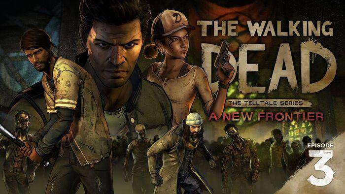 The Walking Dead Season 3 Episode 3 Above The Law Key Art