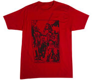 "THE WALKING DEAD ""BLOOD RED"" T-SHIRT"