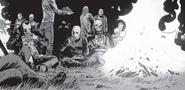 Negan, Alpha, Beta & The Whisperers