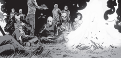 Negan, Alpha, Beta & The Whisperers