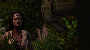 ITD Michonne Approaches Door