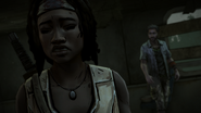 ITD Michonne Feeling Uneasy