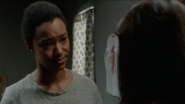 Sasha Williams Saying Goodbye to Enid 7x14 The Other Side