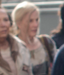 Season three blonde woman