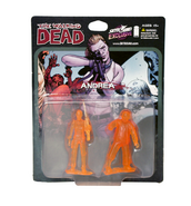 Andrea pvc figure 2-pack (translucent orange)