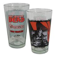 The Governor Comic Series Pint Glass